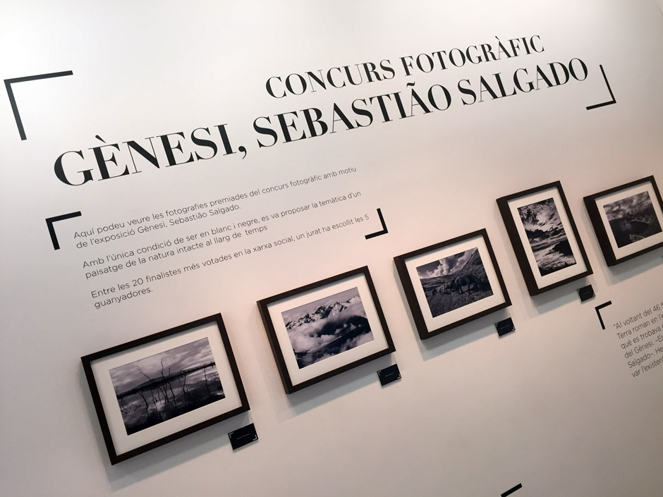 Sebastiao Salgado, disseny grafic lleida i barcelona virbia CaixaForum